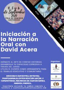 Iniciación a la narración oral David Acera