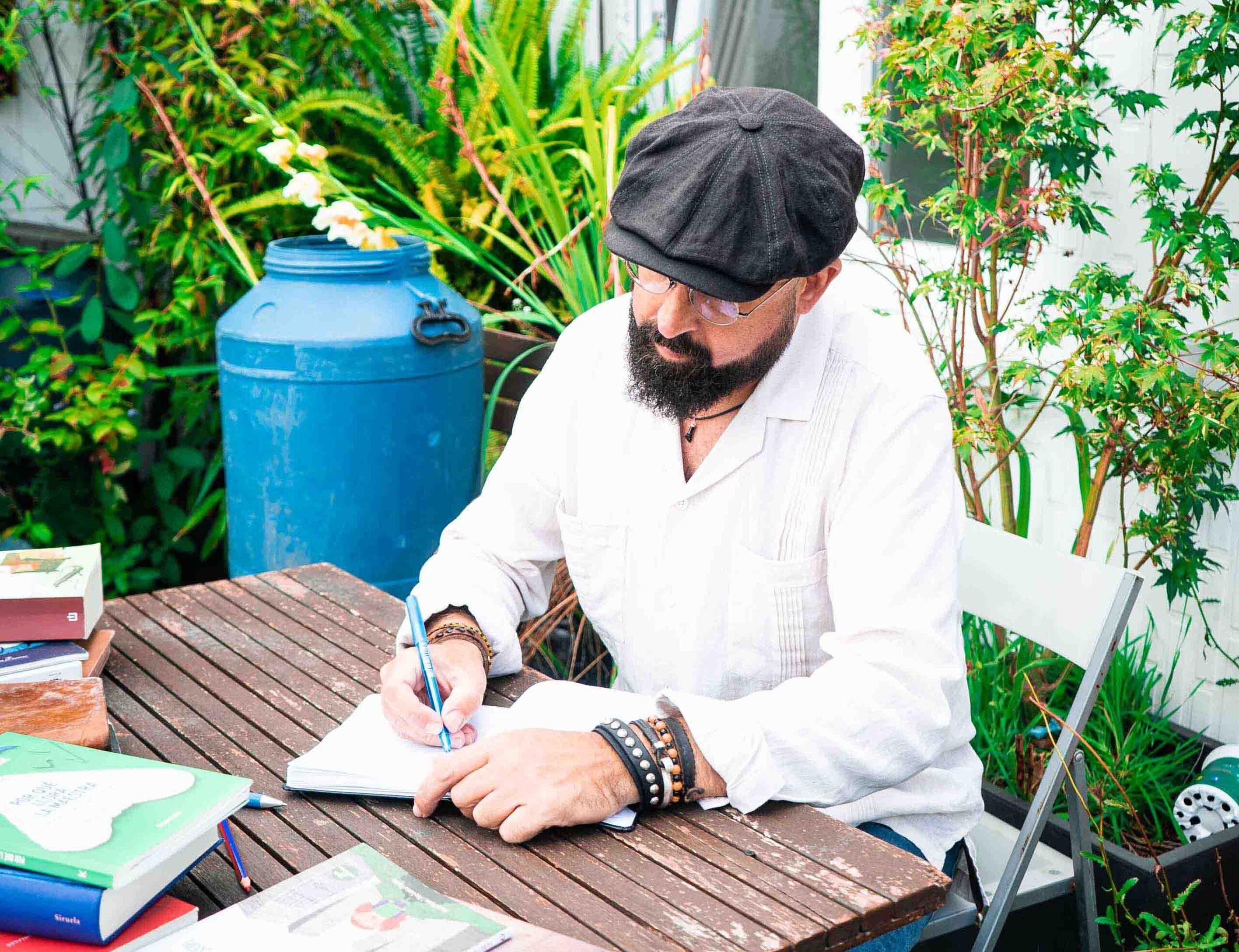 David Acera, escritor y narrador oral en Asturias